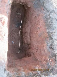pipe underground